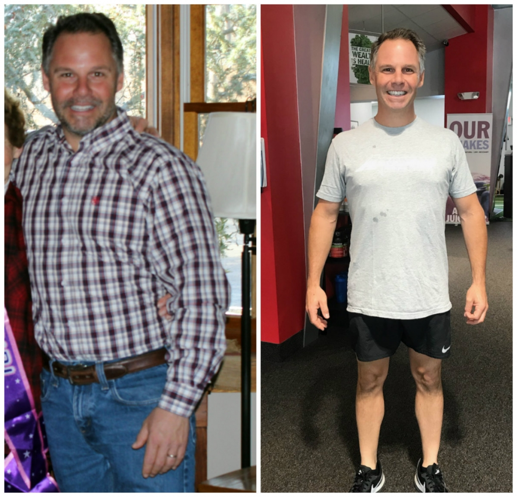 Alan Before and After Advantage Personal Training